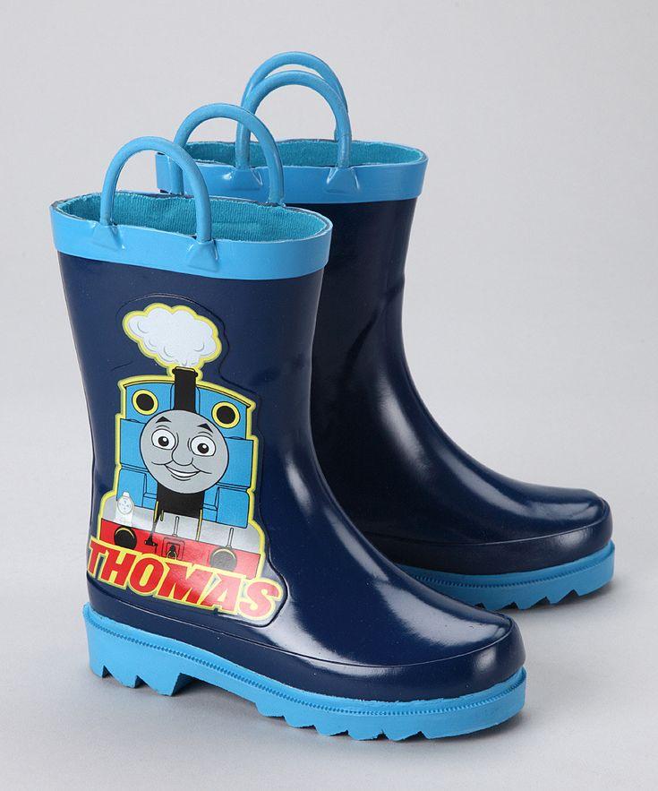 AccessoWear Blue Thomas the Train Rain Boot