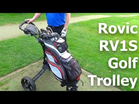 Rovic By Clicgear RV1S Swivel Golf Trolley | First Look - YouTube