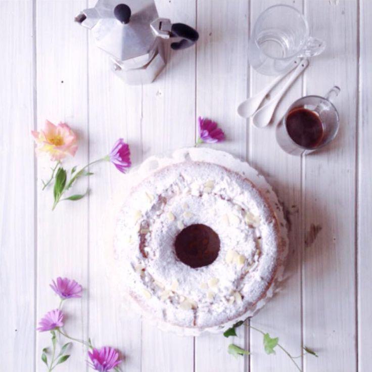 ricetta della torta sette vasetti fatta con il forno sul fornello