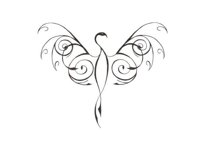 33 Minimalist Phoenix Tattoo Ideas