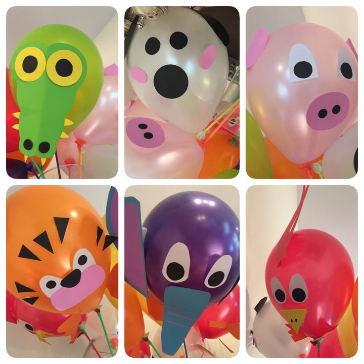 baloons animal party  globos animales souvenir birthday DIY