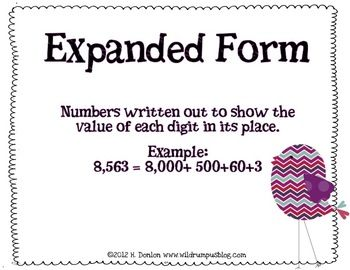 Best 25+ Place value definition ideas on Pinterest | Expanded form ...