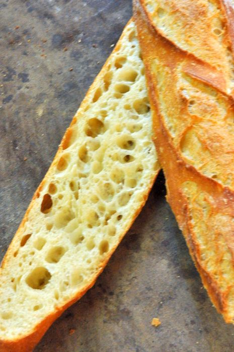 Baguette tradition is different than classic baguette