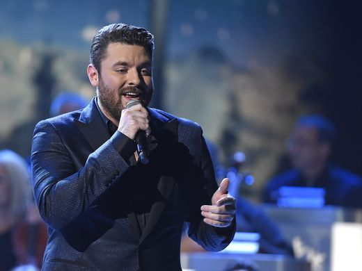 Chris Young performs at the CMA Country Christmas at