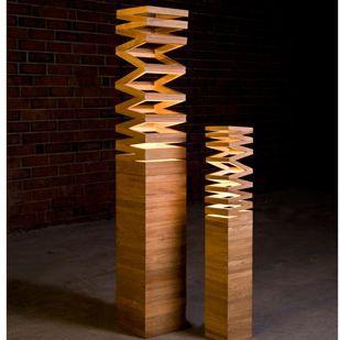 Une lampe design et originale en bois #avecdubois
