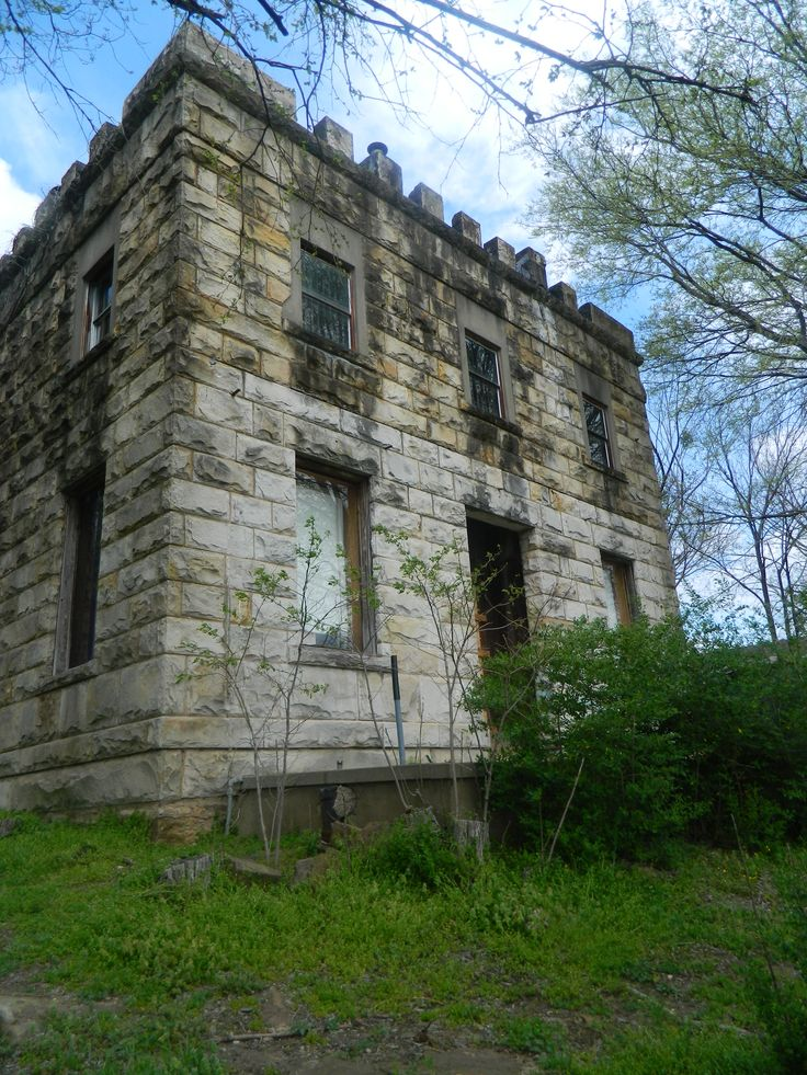 Old Jail, in Ozark Arkansas