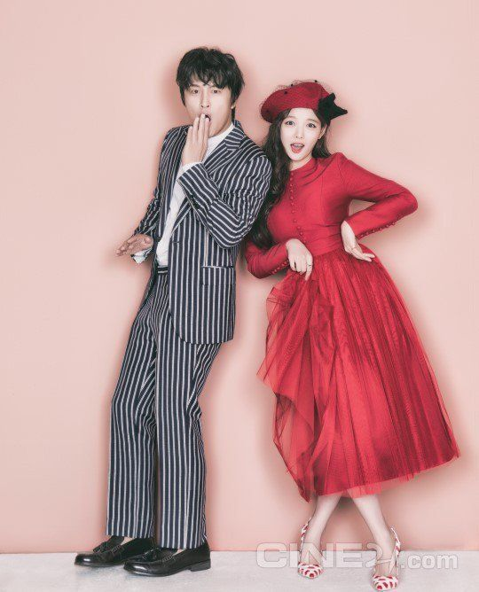 Kim Yoo Jung and Cha Tae Hyun are an adorable combo in 'Cine21' photo shoot | allkpop.com
