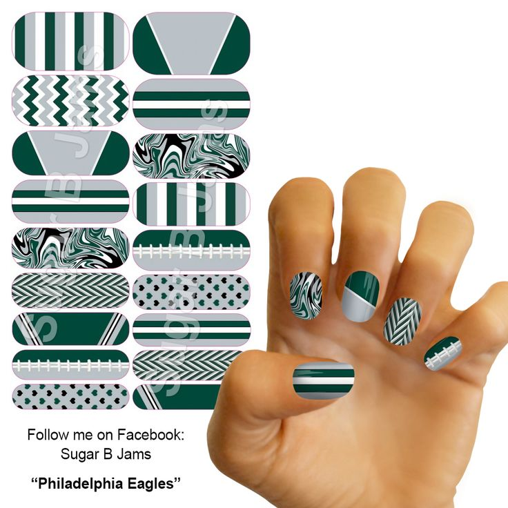 17 best Custom NFL Jamberry Nail Wraps images on Pinterest ...
