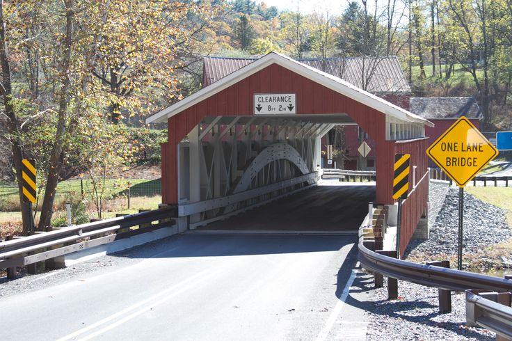 Rex's Covered Bridge, Lehigh County, Pennsylvania (With