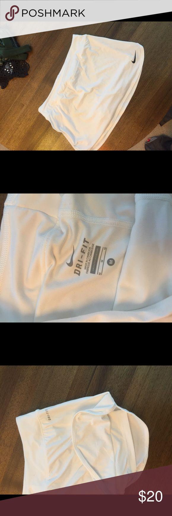 Womens white nike tennis skirt Dri-fit athletic tennis skirt Nike Skirts