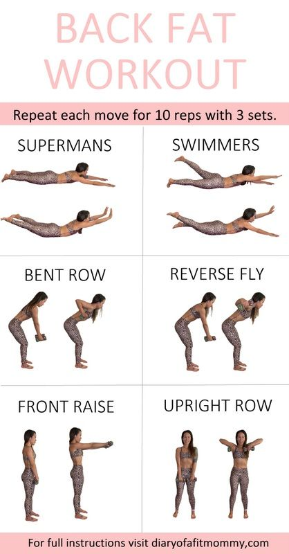 Back Fat & Bra Bulge Workout