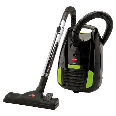 Bissell Zing Bagged Canister Vacuum - Black 1668