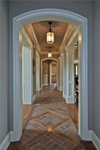Entry Transition To All Wood For Kitchen Hall In 2019
