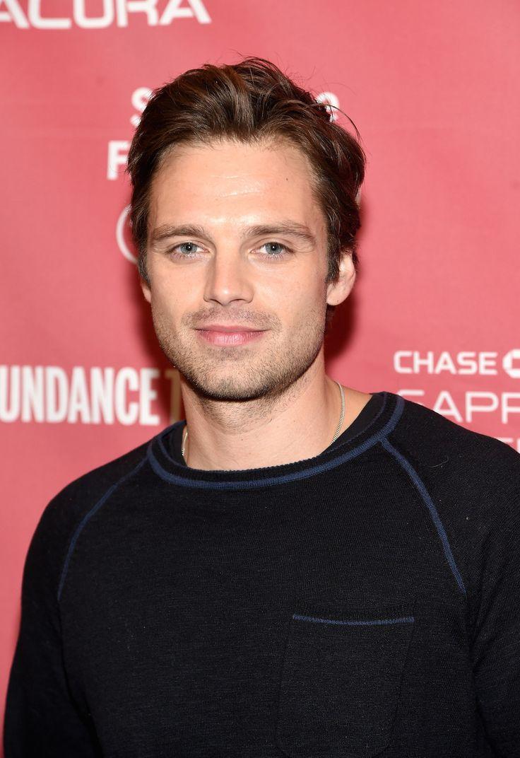 At Sundance, looking cute in a cute sweater....Sebastian ⭐️ Stan