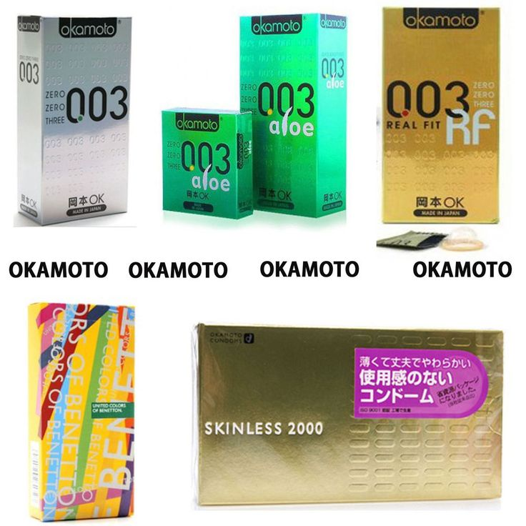 Okamoto ULTRA THIN Lubricant Polyurethane Condoms 003 PLATINUM REAL FIT SKINLESS