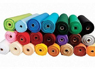 Bulk Purchase of 20 Assorted Rolls of Felt for Crafts - Great Value & Best Quality