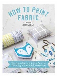How to print fabric, fabric printing, sewn home accessories   InterweaveStore.com