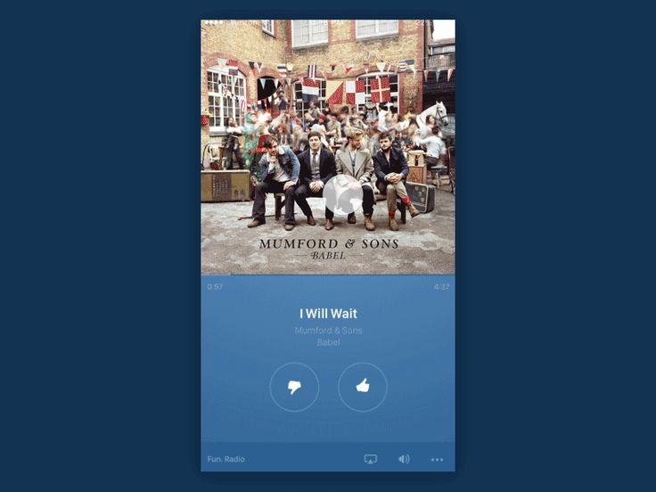 Pandora Skip Track by Jon Pritzl for Handsome