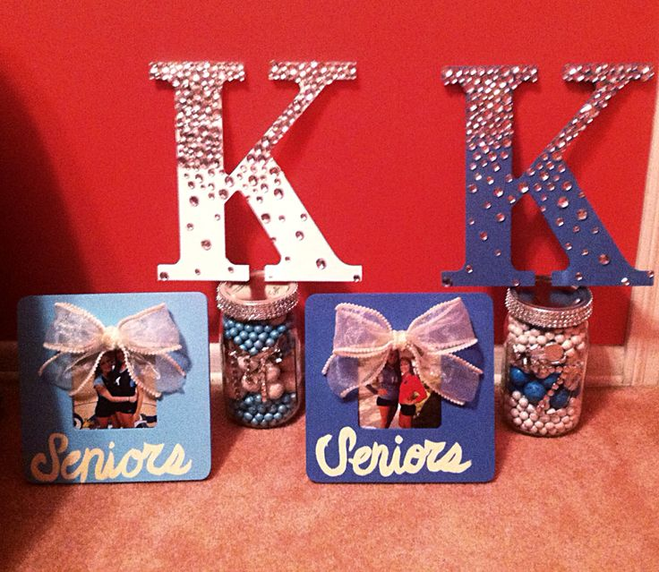 Senior night gifts, Cheer gifts and Volleyball on Pinterest