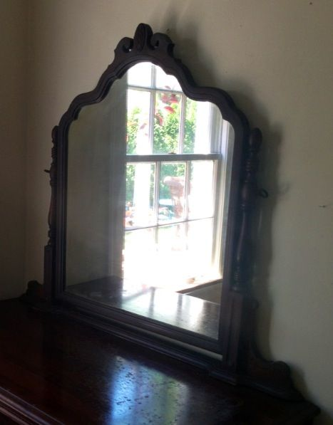 Vintage carved mirror