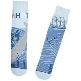 Ahoy Nautical Socks,