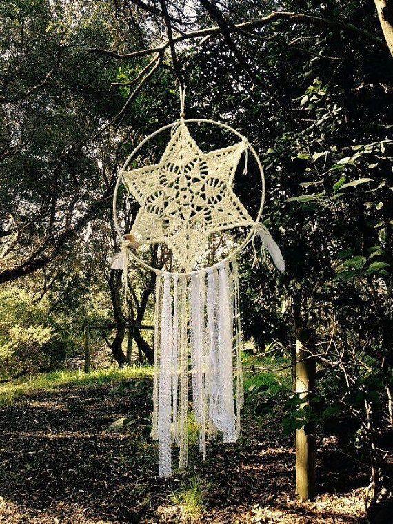 Soul-Mandala Crochet Dreamchatchar by FlowingBuenaVida on Etsy