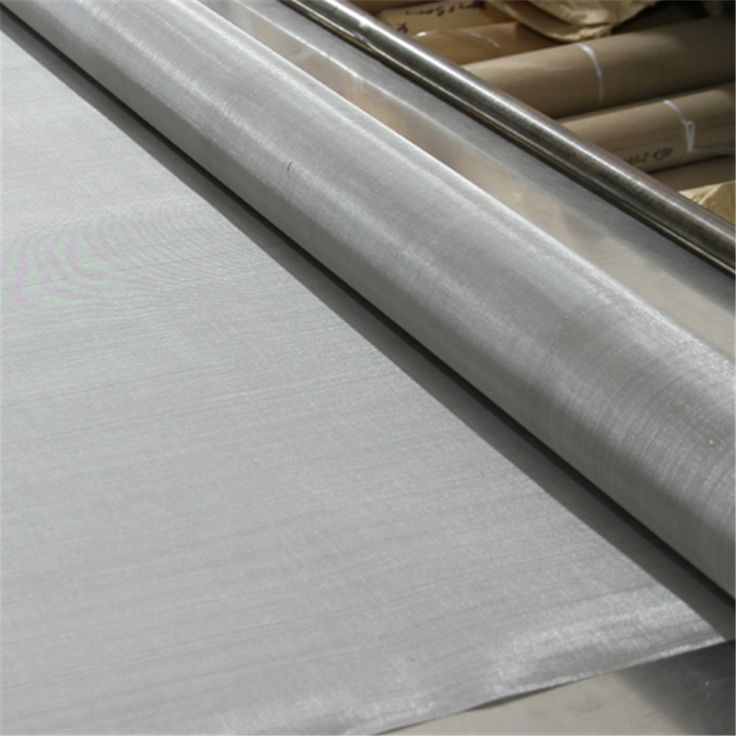Stainless steel 1 3 5 8um 1.4301 1.4401 1.4404 fine micro screen woven wire mesh