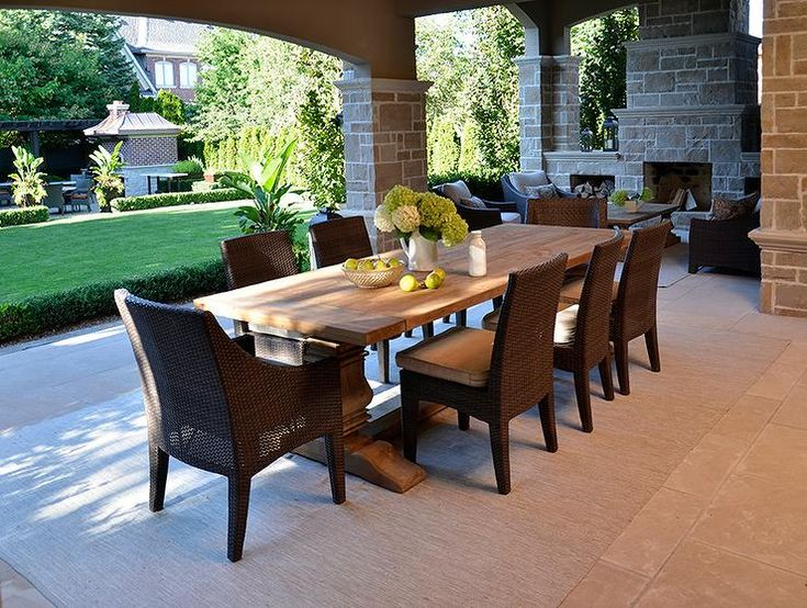 patio on pinterest dining sets travertine pavers and wicker dining