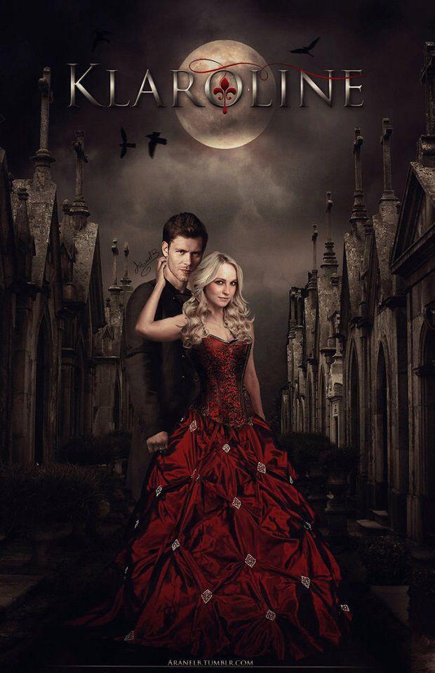 "#TVD #TO The Vampire Diaries, The Originals Klaus & Caroline ""Klaroline"""