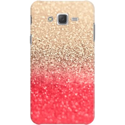DailyObjects Gatsby Coral Gold Case For Samsung Galaxy J7