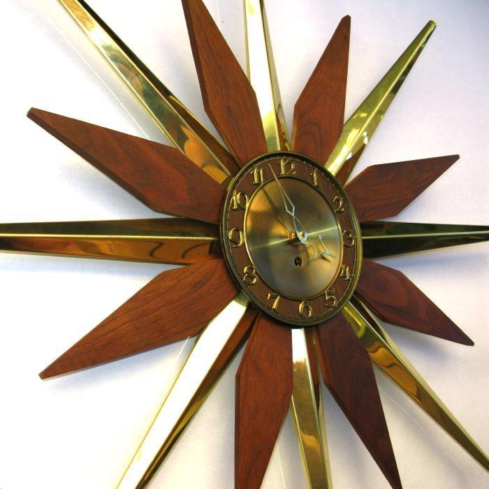 1000 Ideas About Sunburst Clock On Pinterest Clocks