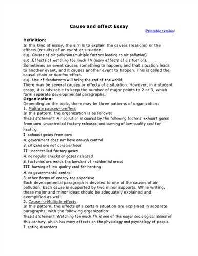 Best Cause And Effect Essay Ideas On Pinterest Cause And Best Cause And Effect  Essay Ideas