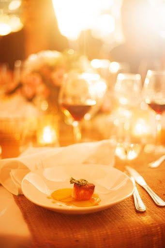 Au menu: pétoncle poêlé, salade de betteraves jaunes, salicorne et coriandre