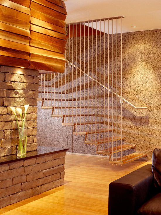 Best Stair Images On Pinterest Stairs Architecture And - Suspended style floating staircase ideas for the contemporary home