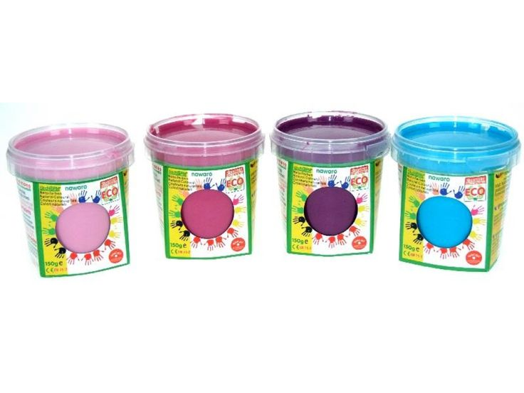 Nawaro Fingerfarbe Princess Ecofee 4er Set