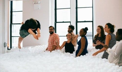 Best Adult Playgrounds - Jetsetter JumpIn! Adult Ball Pit, NYC