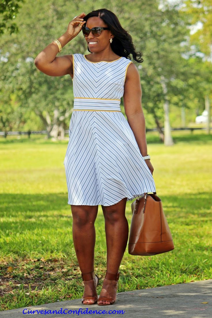 Spring Seersucker Curves Confidence Fashion Miami Fashion