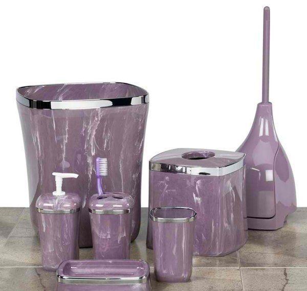 Purple Bathroom Accessories