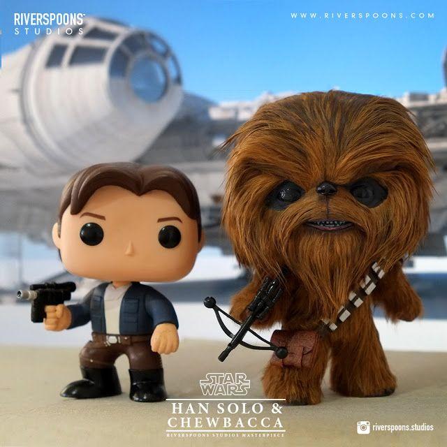 Riverspoons Studios: Riverspoons Studios Star Wars Chewbacca Custom Pop! Masterpiece
