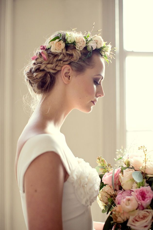 whimsical bridal braids by Lovehair | photo by Her Lovely Heart