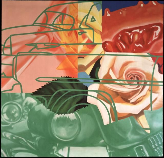 "James Rosenquist ""Cage"" 1964"