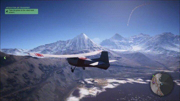 Missile Dodge (Tom Clancy's Ghost Recon: Wildlands)