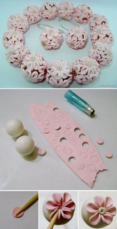 tuto perles fleurs