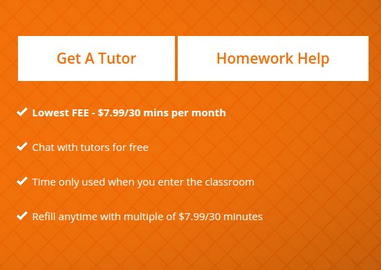 Avail benefits of online tutoring at lowest fee just $7.99 for 30 mins/month. Visit TutorEye.com Now!