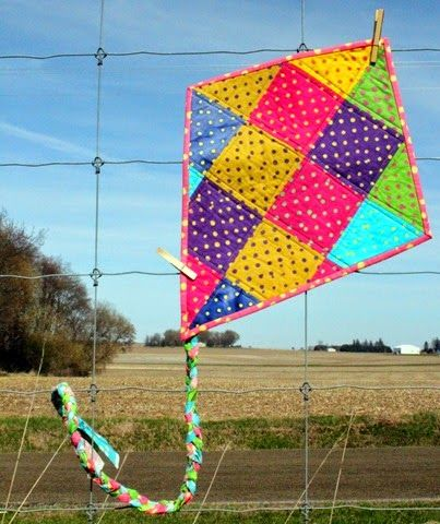 Patchwork Kite (pattern for sale at Craftsy)