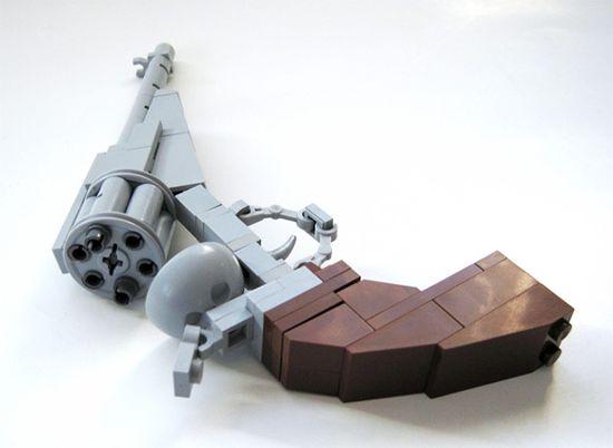 LEGO RIFLE | Chris Hannah - Weird & Wonderful: The Lego pistol - Chad's Eye View