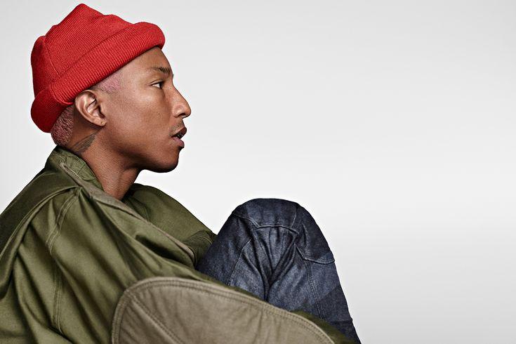 G-STAR RAW Fall Winter 2016 Campaign Featuring Pharrell Williams