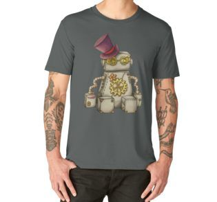 """""""Robert"""" Men's Premium T-Shirt by I Love the Quirky"""