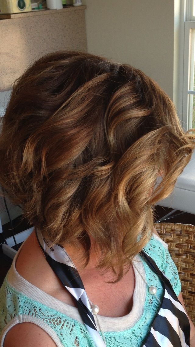 a line haircut for curly hair 30 popular stacked a line bob hairstyles for corte 3331