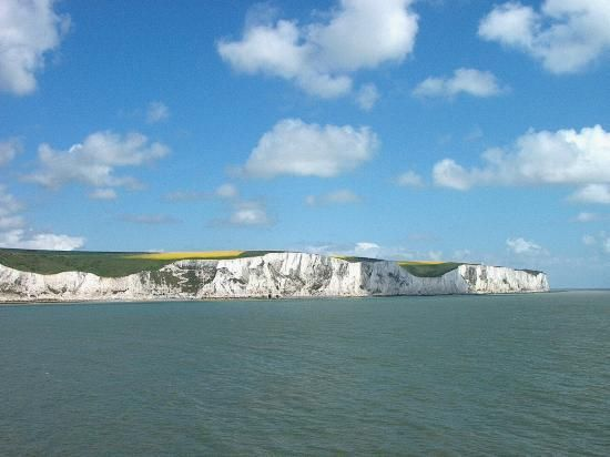 England, UK: White Cliffs of Dover